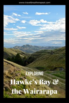 Exploring Hawke's Bay and the Wairarapa in New Zealand Travel Couple, Family Travel, Amazing Destinations, Travel Destinations, Travel Guides, Travel Tips, Travel Stuff, New Zealand Travel Guide, New Zealand North