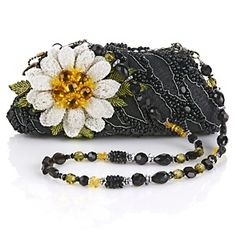 Mary Frances Beaded 'She Loves Me Daisy' Bag <3<3