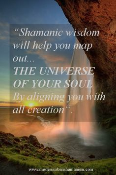 """Shamanism is a proven lifestyle choice and a belief system that places your eternal life force """"your soul energy"""" in the stream of infinite ..."""