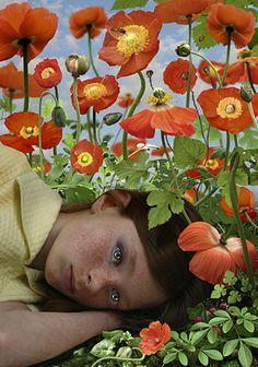 Ruud van Empel, Dawn 3, (2008) at Stux Gallery