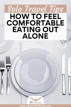 Traveling solo? Click here for a complete guide to eating out alone from a female solo traveler. Eating out alone can sound intimidating. Follow this 9 tips for eating out alone as a solo traveler to ease your worries. #travelanthropy #mytravelanthropy #solotraveltips | solo travel tips | solo female travel | solo travel usa | solo travel europe | solo female travel destinations | solo dining restaurant | solo dining europe | solo dining italy | female travel tips | solo travel tips | Solo Travel Europe, Solo Travel Tips, Italy Travel Tips, Africa Travel, Travel Abroad, European Travel, Travel Destinations, Travel Bugs, Travel Alone