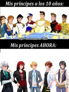 Hermosos y sexys príncipes XD