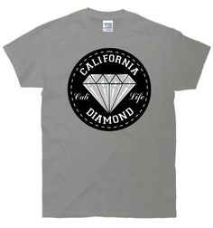 1e3d6a92 TeeShirtPalace California Diamond T-Shirt Funny Outfits, Cool Outfits,  Graphic Shirts, Funny