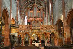 Lettner und Silbermannorgel Jung St. Peter Straßburg