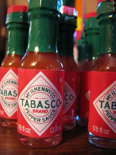 Tabasco omáčka - ilustračné foto - zdroj: flickr.com