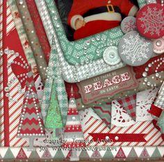 Scrapbook Y Más: Mi proyecto en la Revista Papeles y Más edición diciembre 2013 / enero 2014