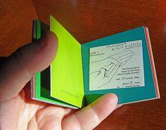Pocket sized book.