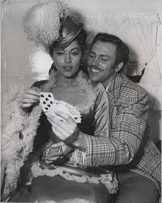 Howard Keel and Ava Gardner