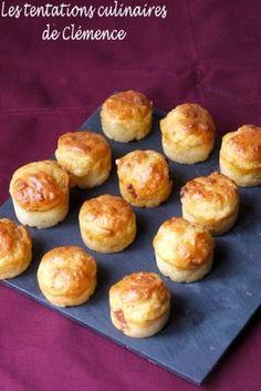 Voici de petites bouchées bien parfumées et toutes simples à faire. Elles ont parfaitement accompagné une soupe ! J'ai repris une recette de Nad mais j'ai remplacé les lardons par du chorizo... Pour 35 mini-moelleux (15 mini-muffins + 20 mini-cannelés):...