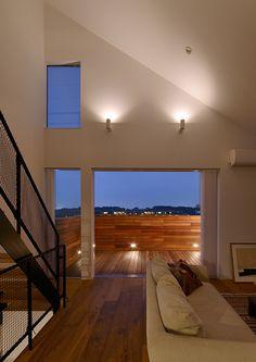 丘の上に建つ三角屋根の浮木の家・間取り(神奈川県川崎市) | 注文住宅なら建築設計事務所 フリーダムアーキテクツデザイン