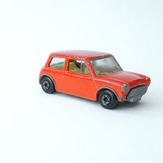 The Racing Mini: vintage Matchbox diecast toy car, 1970 My brother had it.  I played with all his cars when he wasn't looking.