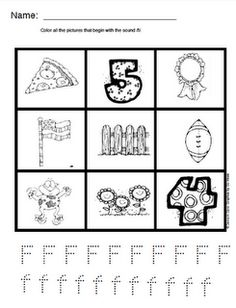 Alphabet Sounds (19 pages including some review pages)