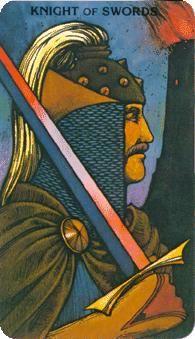 Knight of Swords - Morgan Greer Tarot