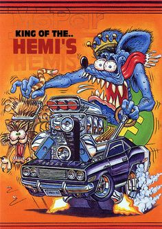 https://flic.kr/p/5QrBiY | Rat Fink Ed Big Daddy Roth - King of the Hemis