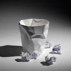 #binbin #paperbin #papierkorb Bin Bin ist ein Papierkorb mit einer ganz eigenen Identität: Er sieht genauso aus, wie der Inhalt, den er aufnehmen soll.