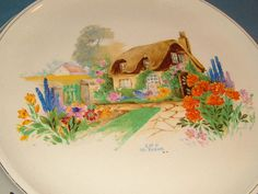 1930s Art Deco Bread Plate / Cake Stand by Thomas by BiminiCricket, $45.00