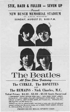 St. Louis gig, 1966