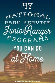Junior Ranger Badges to Earn at Home · a humble place Summer School, School Days, Summer Fun, Virtual Field Trips, Home Learning, Park Service, Home Schooling, Homeschool Curriculum, In Kindergarten