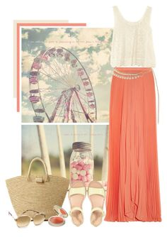 """Fun Summer"" by weeyz ❤ liked on Polyvore featuring Alice + Olivia, H&M, Cole Haan, Mar y Sol, Topshop and Victoria Beckham"