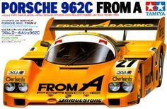 ポルシェ 962C FROM A スポーツカーシリーズ No.89 フロム・エー ポルシェ 962C。コクピット 足まわりを精密再現。