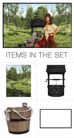 """""""women at the well"""" by anyower ❤ liked on Polyvore featuring art"""