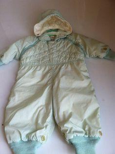 VINTAGE BABY snowsuit 50s