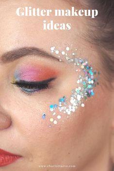 Glitter makeup ideas #glittermakeup #glitter #beauty