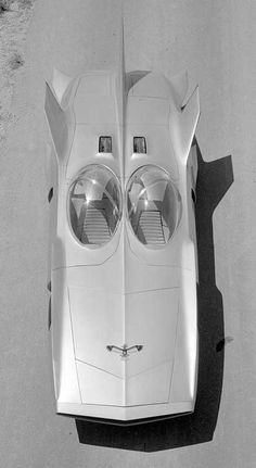 1958 GM Firebird III ( futuristic concept car ). Reminds me of a Hot Wheels car from the 60's.