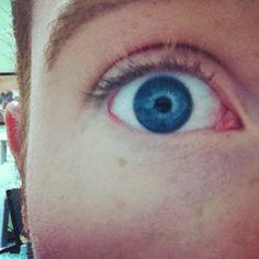 .@nickfoster23 | Big blue eyes ️ #me #my #eye #big #blue #eyes #blueeyes #selfpic #selfie #at... | Webstagram