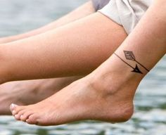Arrow Around The Ankle
