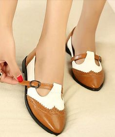 hot sale Free shipping fashion ladies 2013 flats Oxfords women shoes woman casual colors block belt buckle pointed toe SXX133022-in Flats fr... Women´s Clothing Shoes: http://amzn.to/2jSwhY9