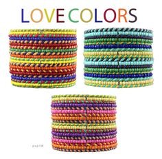 Pvp, Spring, Friendship Bracelets, Ready To Wear, Colors, Girls, How To Wear, Inspiration, Accessories