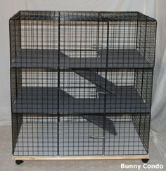 C&C multi-level cage for rabbits; use for gp's?