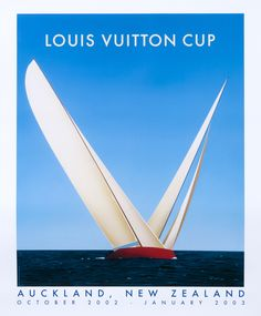 Razzia poster: Louis Vuitton Cup - Auckland, New Zealand (medium format open edition)