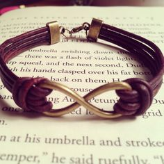 Hey, I found this really awesome Etsy listing at https://www.etsy.com/listing/159050880/mens-infinity-leather-bracelet