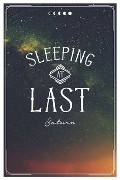 Sleeping At Last - West End Girl Studio Saturn Sleeping At Last, Cultural Probes, College Posters, Feeling Numb, Answer To Life, Space Travel, Music Stuff, Music Quotes, Concerts