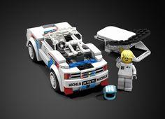 LEGO Ideas - Peugeot 205 Turbo 16 Lego Speed Champions