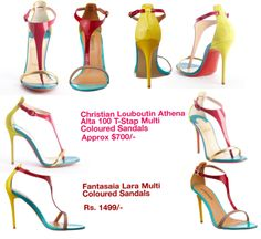 What does it take to copy a Louboutin? And not just a generic basic black pump with a cleverly twisted strap or a brooch on the vamp. One that's so instantly recognisable and has a very specific colour scheme that can't be passed off as inspiration or co-incidence.  Add to that, the design of this …