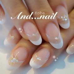 W French...don't like the shape of the nails....but love the design idea.