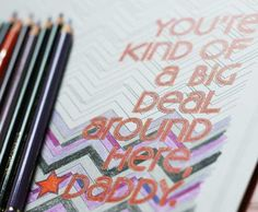 DIY gifts from the kids: Father's Day coloring pages from weelife