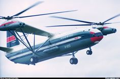 Mil Mi 12 largest helicopter in the world