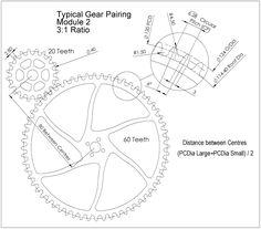 Gear Train design for the wooden clock Wooden Clock Plans, Wooden Gear Clock, Wooden Gears, Antique Mantel Clocks, Wood Clocks, Woodworking School, Woodworking Plans, Woodworking Projects, Gear Train