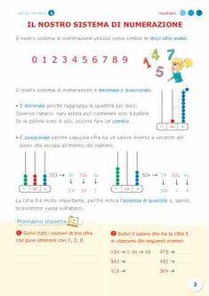 Sussidiario semplice 4 - Matematica Mat Online, Homeschool, Teaching, Education, Math, Euro, Math Books, Math Resources, Onderwijs
