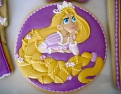 .Oh Sugar Events: Rapunzel Cookies