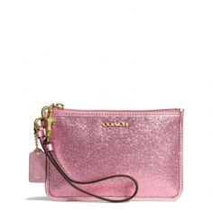 Coach :: LEGACY SMALL WRISTLET IN GLITTER FABRIC
