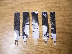 Cute idea and can be used to teach a child how to spell their name without concentrating on letters only