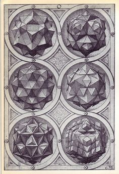 Aqua (a) - Perspectiva Corporum Regularium - Wenzel Jamnitzer 1568 | Flickr – Condivisione di foto!