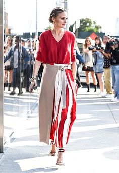 ♥️ Pinterest: DEBORAHPRAHA ♥️ Olivia palermo in red
