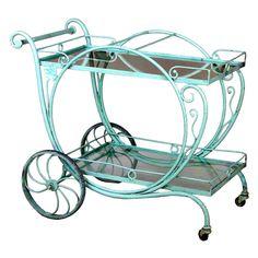 Tiffany Blue Cart