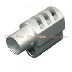 Punisher Compensator for Marui 1911 Airsoft GBB (Style 2) - Silver